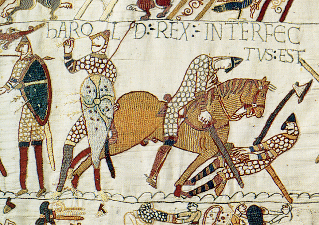 Harold's Death, Bayeux Tapestry
