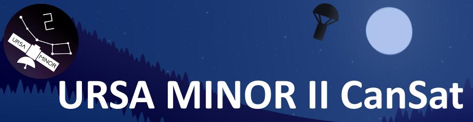 Ursa Minor (CANSAT 2019)