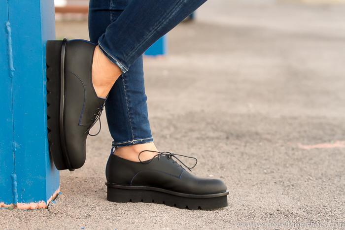 BLog adicta a los zapatos con zapatos bluchers cuero efecto goma de Attilio Giusti Leombruni