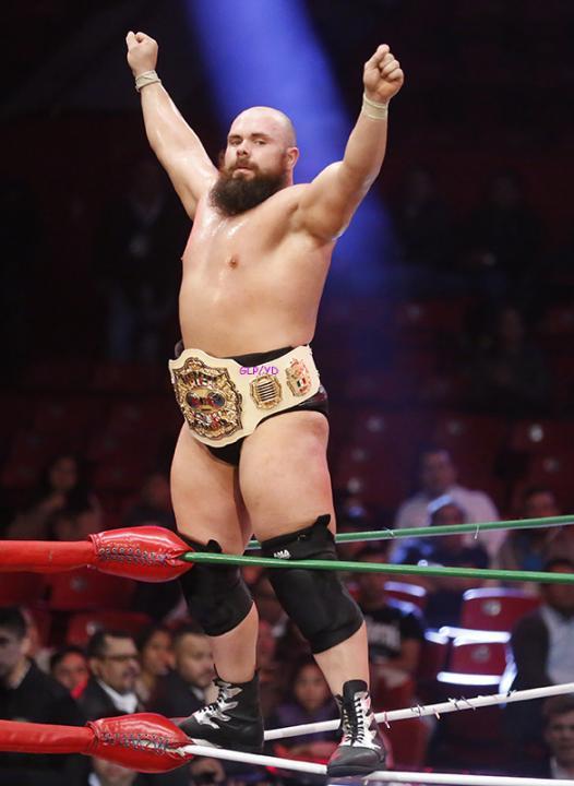 Michael Elgin Campeón Mundial Elite