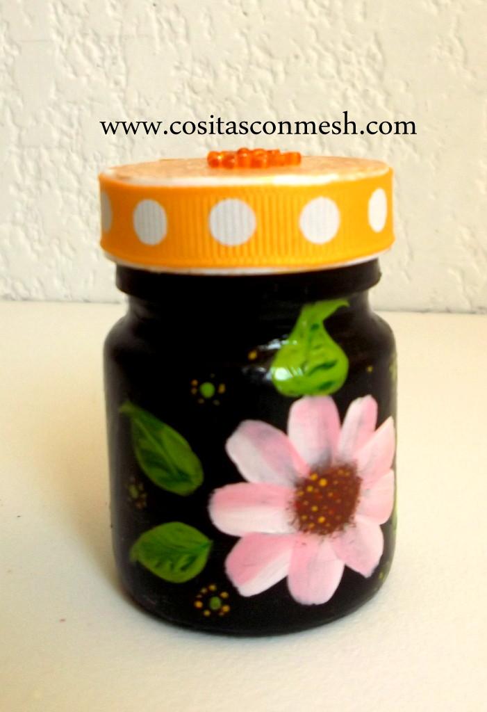 como reciclar frascos de vidrio o pl stico cositasconmesh