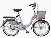 City Bike Wimcycle Mini Vanilla 20 Inci