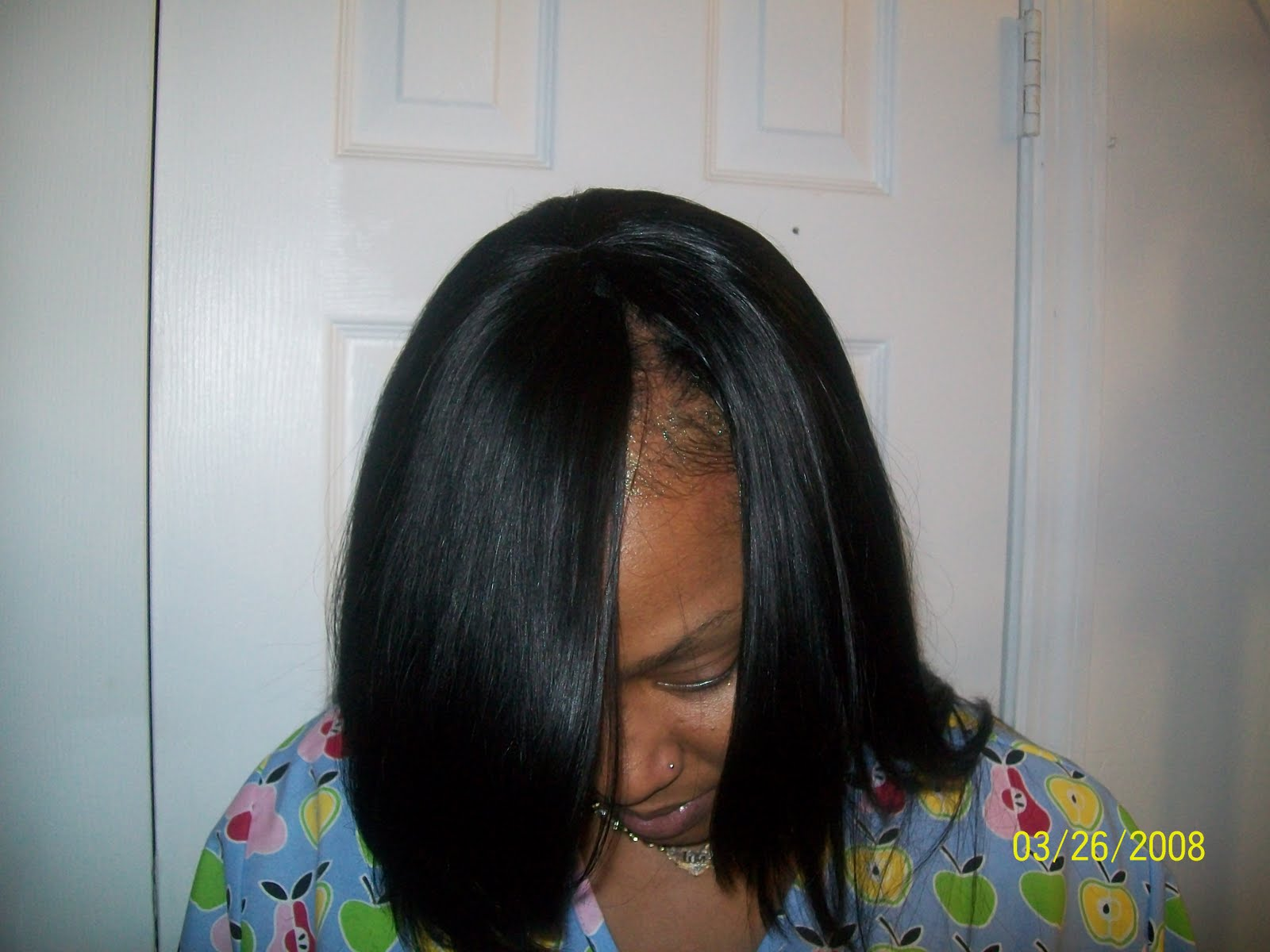 Salon   1164 Clark Ave  Albany  Ga  Sew In with Side Bang   Albany  Ga