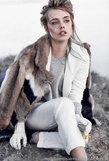 Paula Cahen D'Anvers sacos y abrigos otoño invierno 2015. Moda otoño invierno 2015.