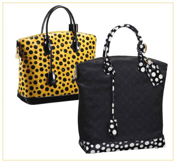 Yayoi Kusama for Louis Vuitton on www.designandfashionrecipes.com