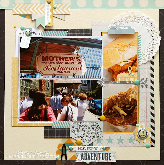 Restaurant_New Orleans_Scrapbook Page_Transparency