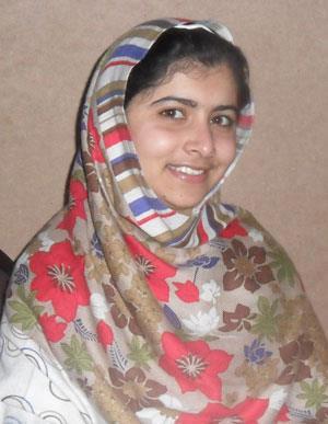 Malala smile picture