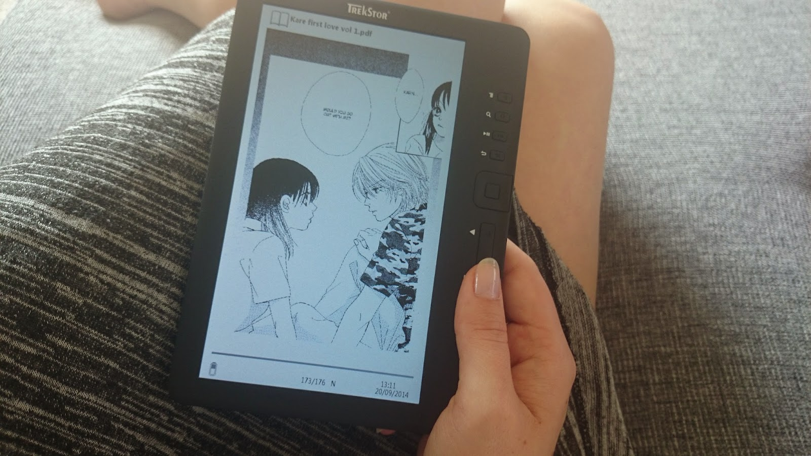 As You Can See On The Picture, You Can Also Read Manga On Your Ebook  Reader! I Found My Favorite Manga Online Ready To Download In Pdf