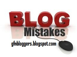 Common Mistakes of New Bloggers