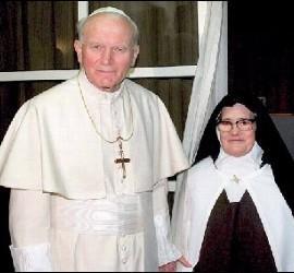 La impostora hermana Lucía y sus herejías
