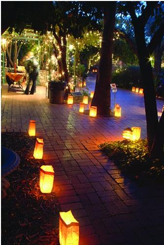 Tahoe Wedding Collection DIY Lights Lanterns Luminaries