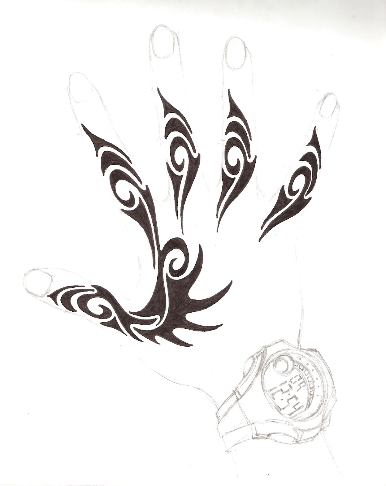 the black tattoos hand tattoos design. Black Bedroom Furniture Sets. Home Design Ideas