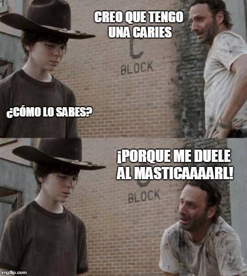The Walking Dead acercandose poco a poco a Carl para decirle algna chorrada terminada en Carlllllll. Aquí os dejo esta lista con algunos de los mejores