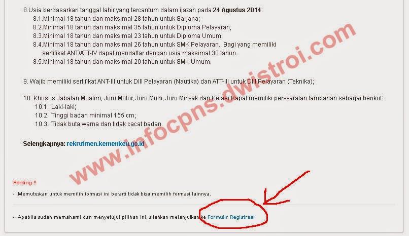 Panduan Cara Pendaftaran CPNS 2014 Secara Online