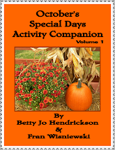 October Special Days Activity Companion