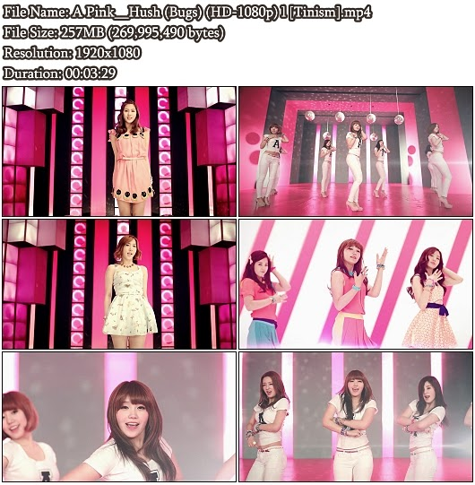 MV A Pink - Hush (Bugs Full HD 1080p)