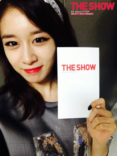 t-ara jiyeon selca mtv the show