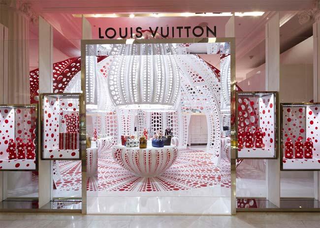 Louis Vuitton, Yayoi Kusama, Selfridges, concept store