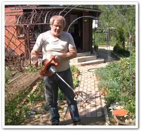 Самоделкин - Как сделать садовый бур