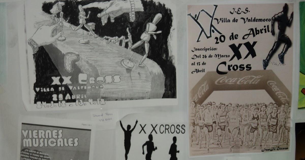 Trizas educaci n pl stica carteles del cross - Oficina de empleo valdemoro ...