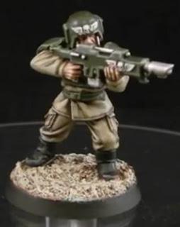 soldado de choque de Cadia