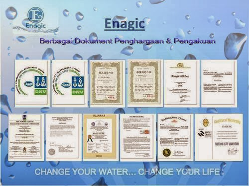 sertifikat kangen water