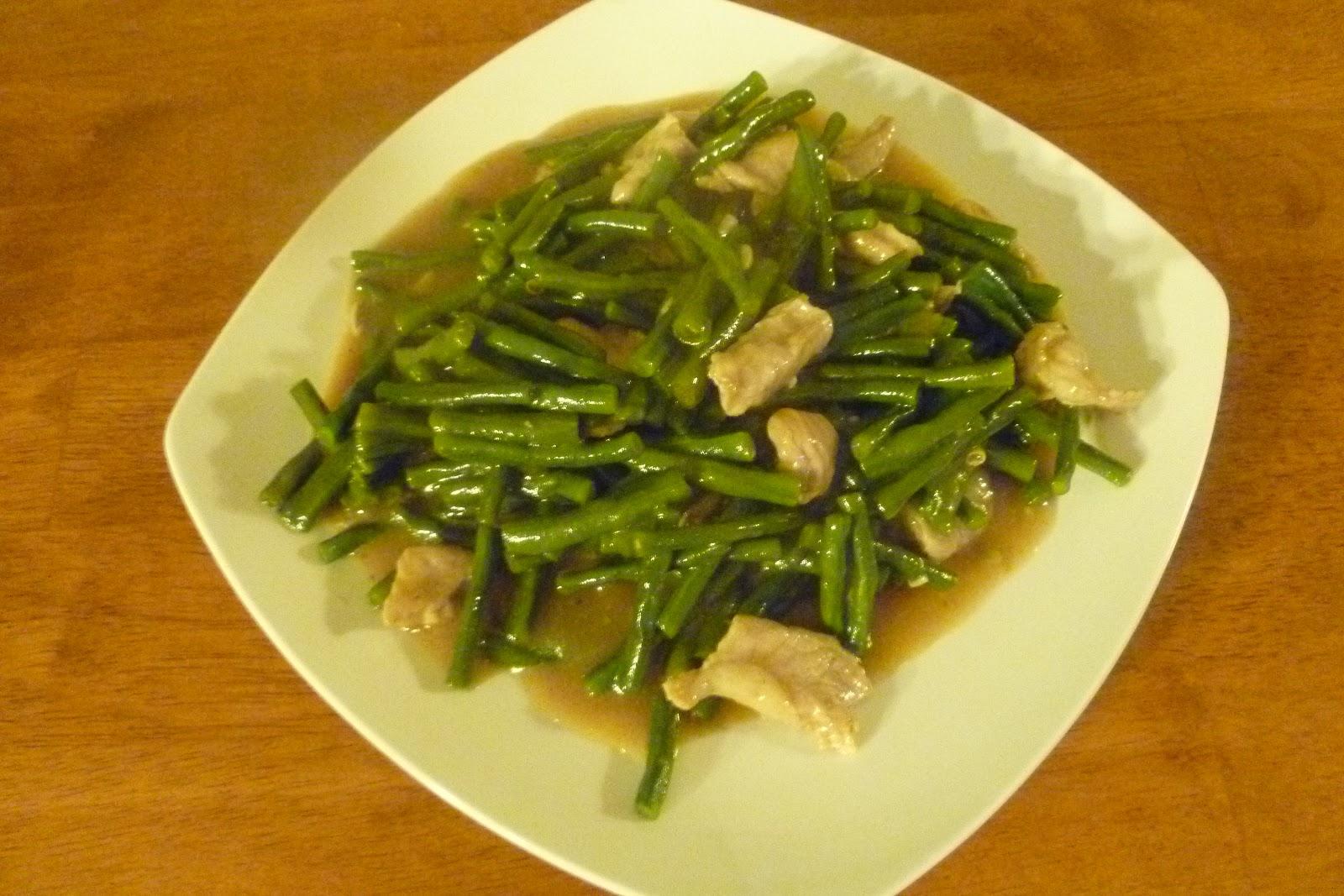 Dapur Komplit Tumis Kacang Panjang