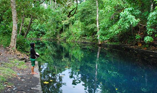 Telaga Biru - Wisata Halmahera Utara (Wilayah Galela)