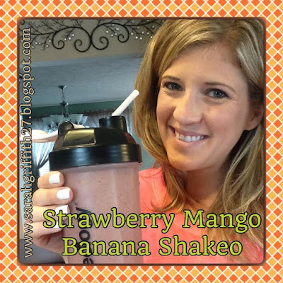 tropical strawberry, vegan, superfoods, shakeology, healthy meal replacements, strawberry, mango, banana, sarah griffith, top beachbody coach state college,