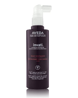aveda review scalp revitalizer invati line alopecia bald spots hair