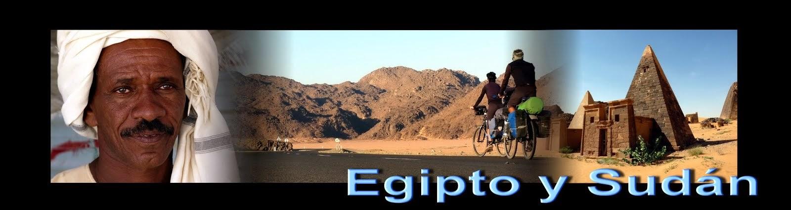 Egipto y Sudán en bicicleta