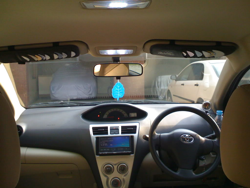 Toyota Belta Interior Car Models