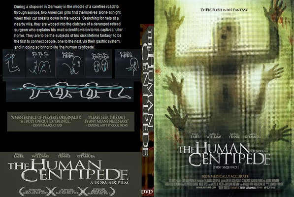 The Human Centipede 1-2  (2009-2011) tainies online oipeirates