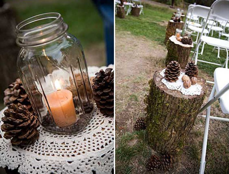 Ri wedding planning ny amp dc planner inspired by pine cones