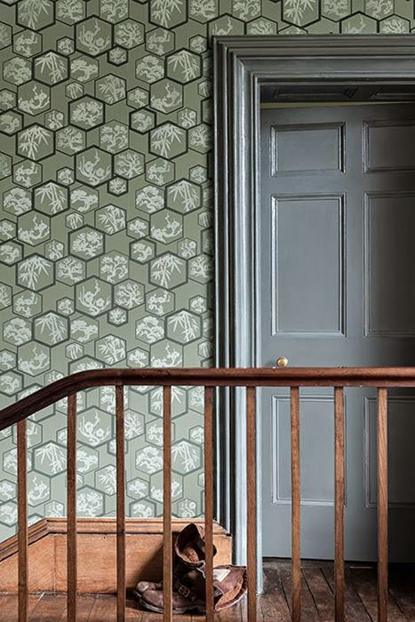 New japanese inspired wallpapers from farrow and ball