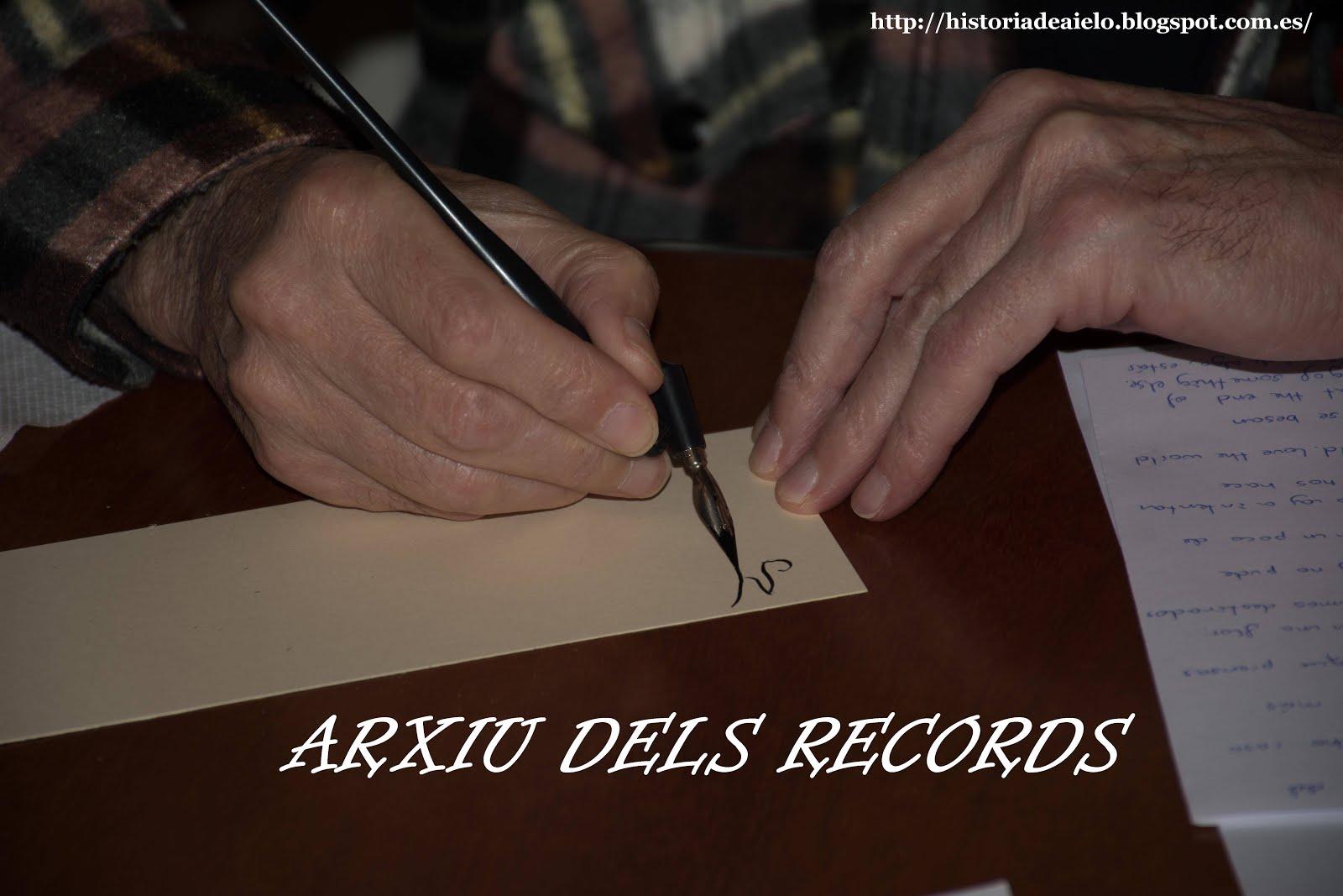 ARXIU DELS RECORDS