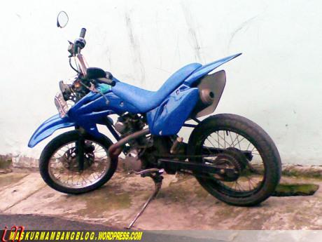 Modif Trail Yamaha Alfa