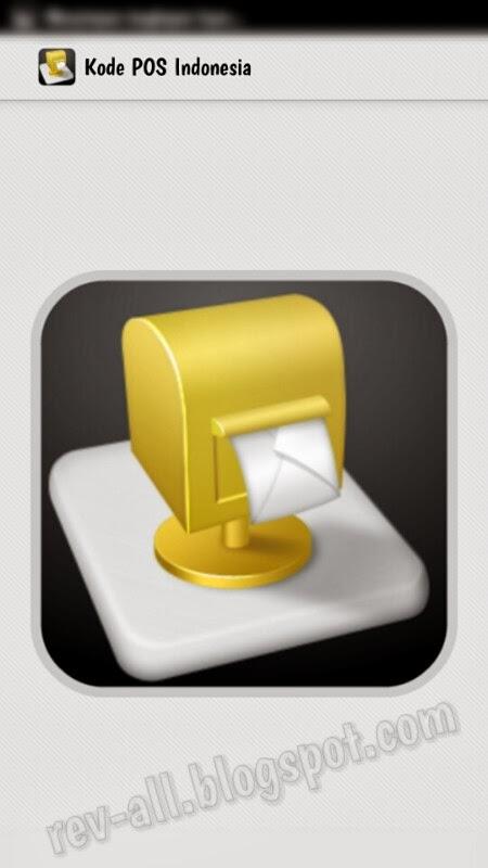 Splashscreen aplikasi Kode Pos Indonesia (rev-all.blogspot.com)