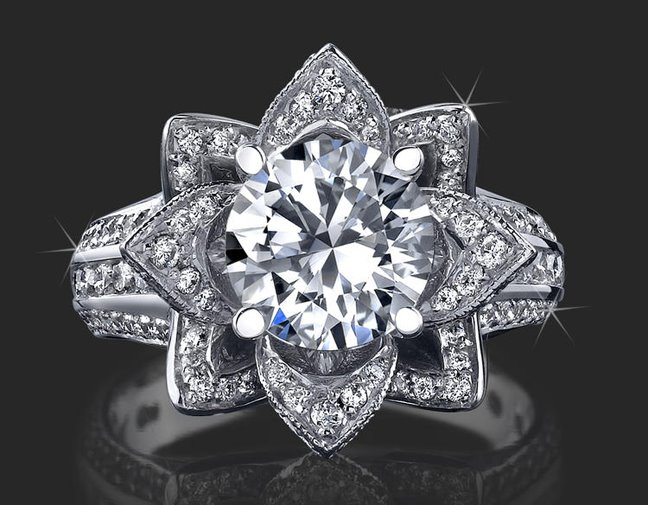 beautyful of ring Engagement Ring Flower Designer Best Collection Wedding Ring