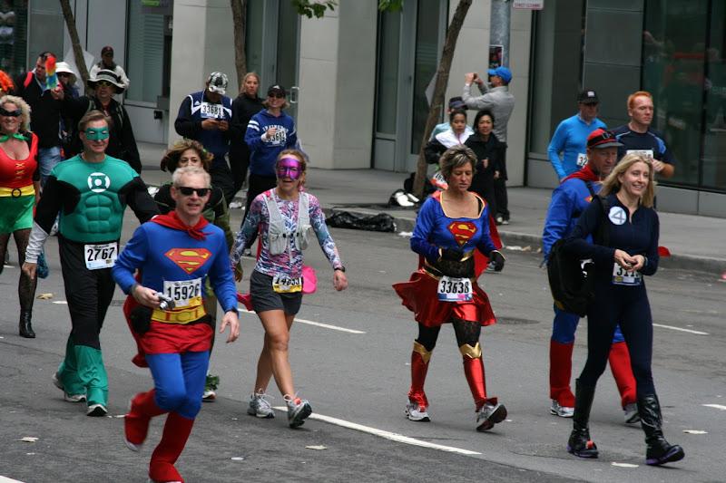 100th Bay to Breakers superheroes