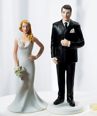 Delicious Wedding Cake Toppers