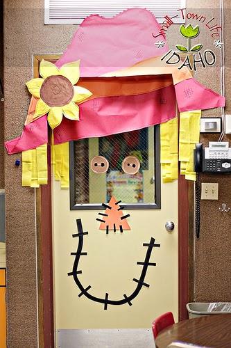 decoracao de sala festa junina educacao infantil : decoracao de sala festa junina educacao infantil:Falando da educação: Ideias de portas decoradas para sala de aula