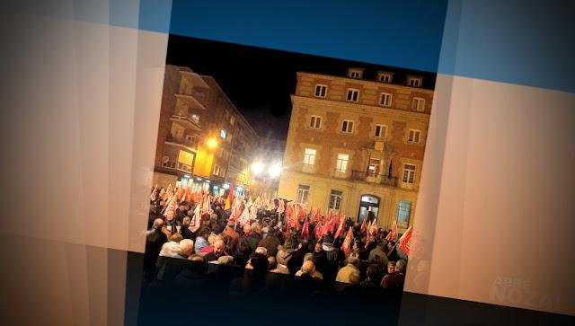 La protesta ciudadana de ayer, 2012 Abbé Nozal