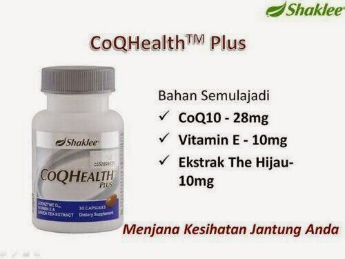 COQ Health Shaklee Untuk Jantung