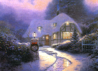 Christmas Cottage I
