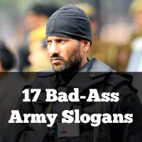 17 Bad-Ass Army Slogans