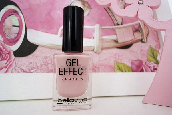 Esmalte Gel Effect Keratin: Pearl Rose Bellaoggi Hinode rose quartz