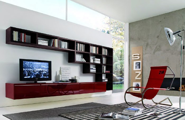 TV Wall Unit Designs Interiors Blog