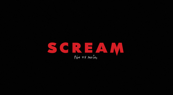 Logo oficial de la serie 'Scream'