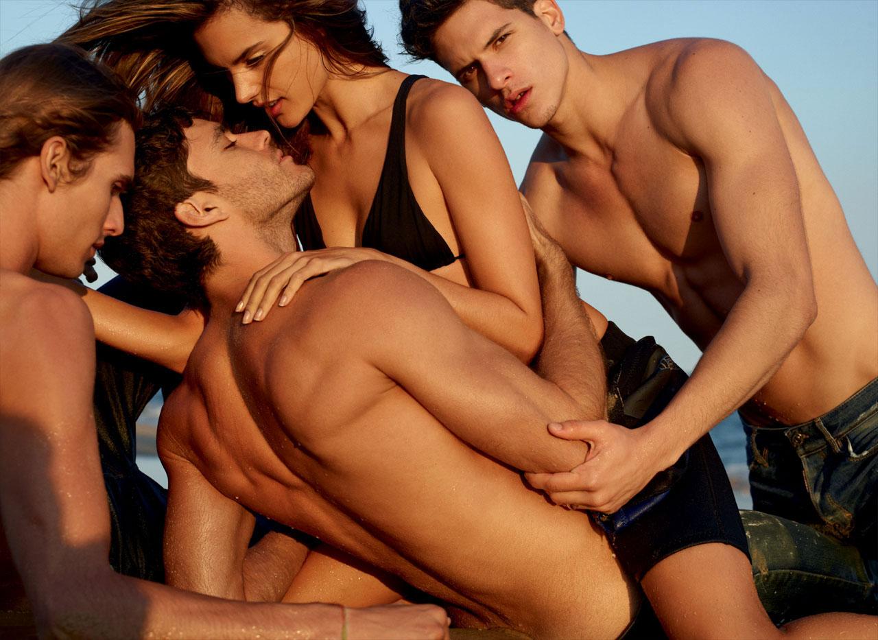 Три парня и одна девушка ретро, 31 Три парня и девушка (С русским переводом)г 3 фотография